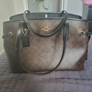 New Coach large handle bag